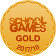 School Games Gold 2015/2016 Logo